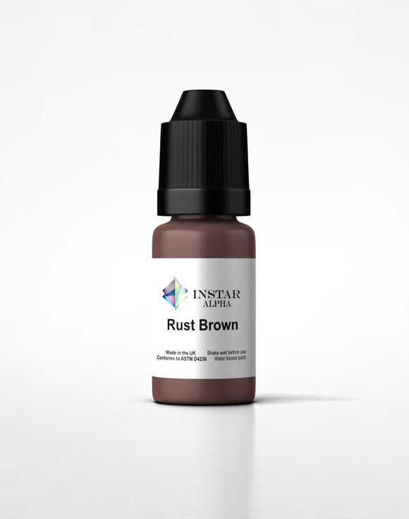 Instar Paint 20ml Alpha Rust Brown