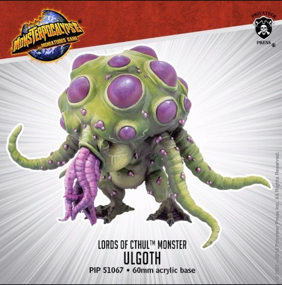 Ulgoth – Monsterpocalypse Lords of Cthul Monster (metal/resin)