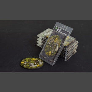 Battle Ready Bases: Highland Oval 105mm (x1) - Game State Store