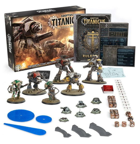ADEPTUS TITANICUS STARTER SET (ENGLISH) - Game State Store