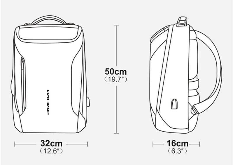 Nayo Rover travel backpack