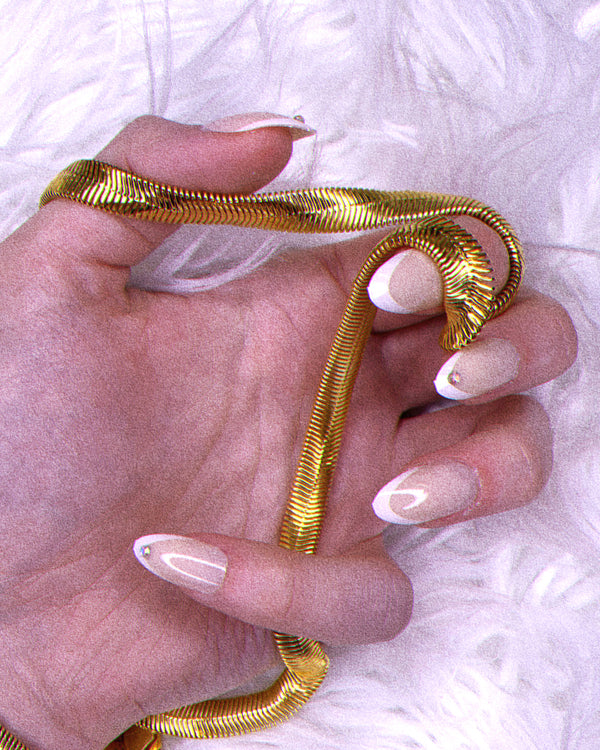Diamond Tip False Nails On Nails