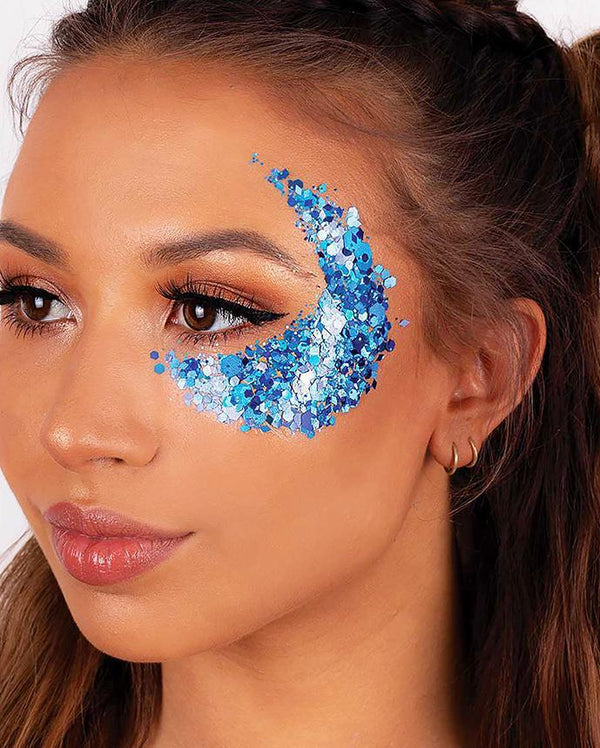 Blue Mermaid Chunky Glitter