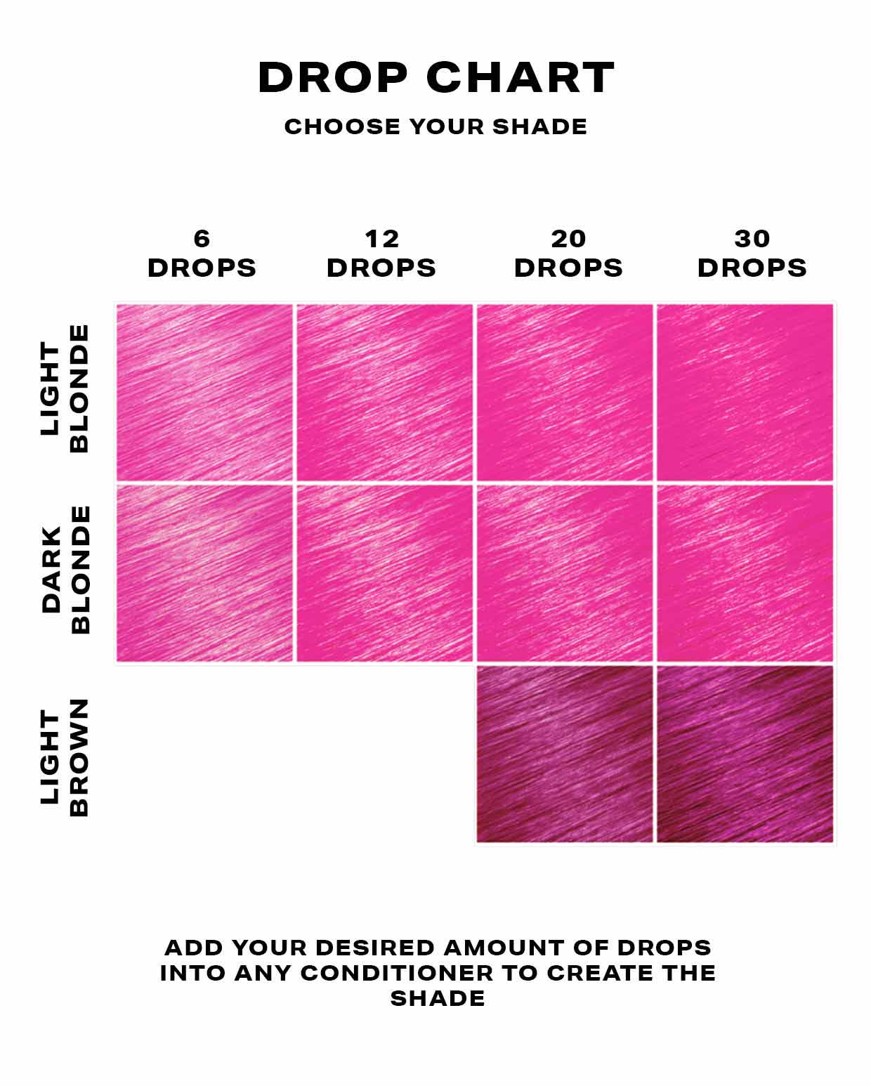 Hot Pink Hair Dye - DROP IT Kit
