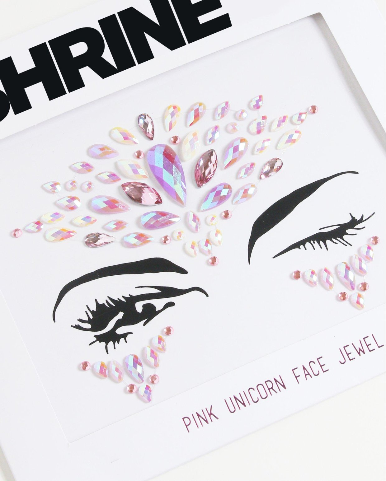 Pink Unicorn Face Jewels