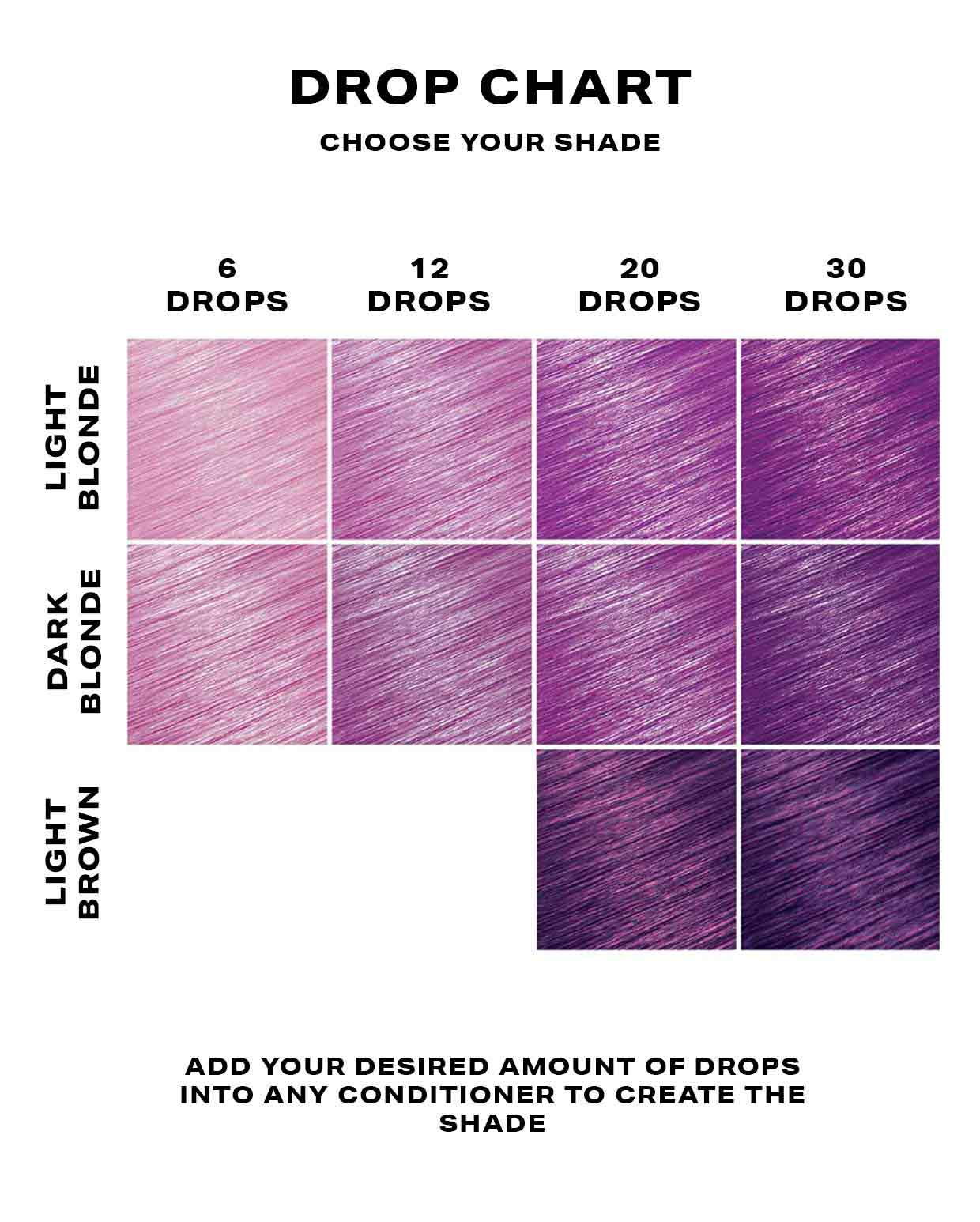 Purple Hair Dye - DROP IT Kit