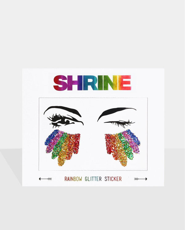 Rainbow Glitter Sticker