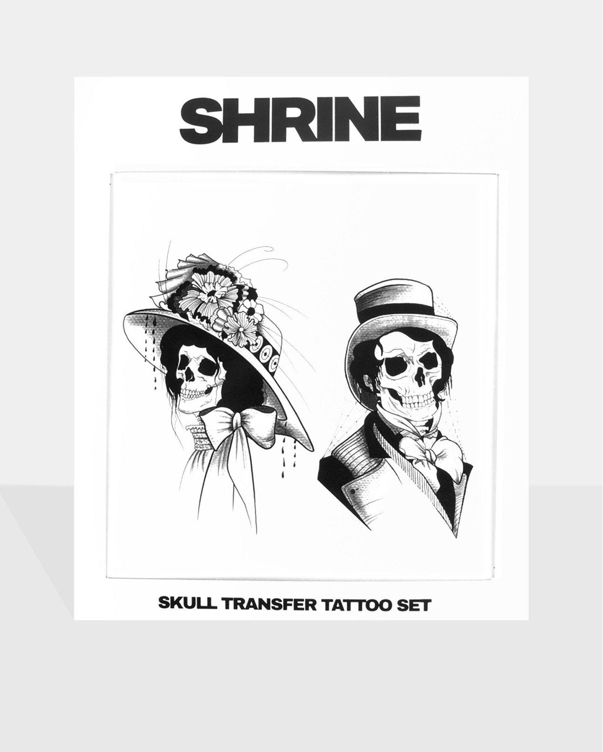 Skull Transfer Tattoo Pack