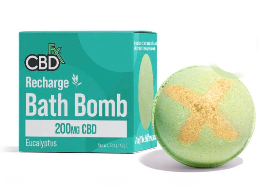 200mg RECHARGE EUCALYPTUS BATH BOMB