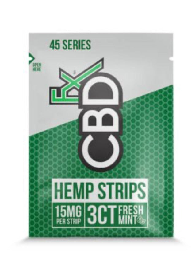 CBD SUBLINGUAL STRIPS 15MG