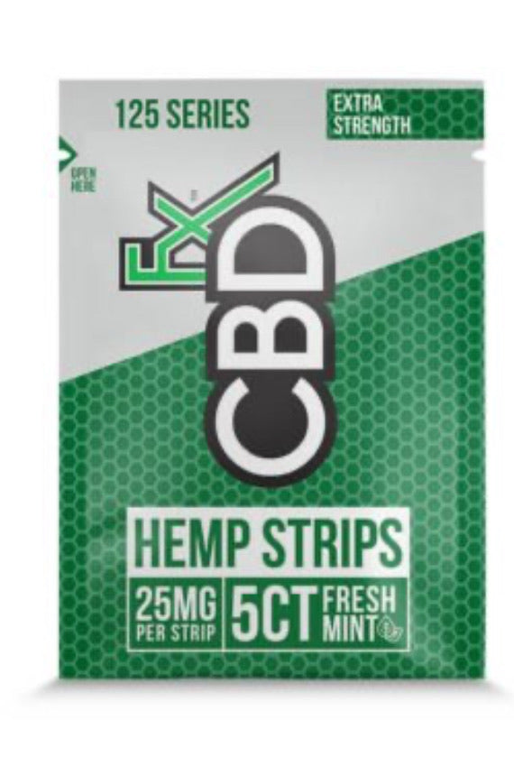 CBD SUBLINGUAL STRIPS 25MG