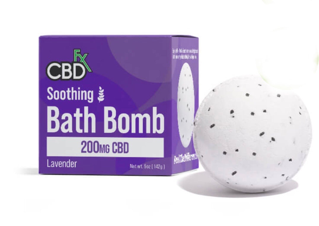 200mg SOOTHING LAVENDER BATH BOMB