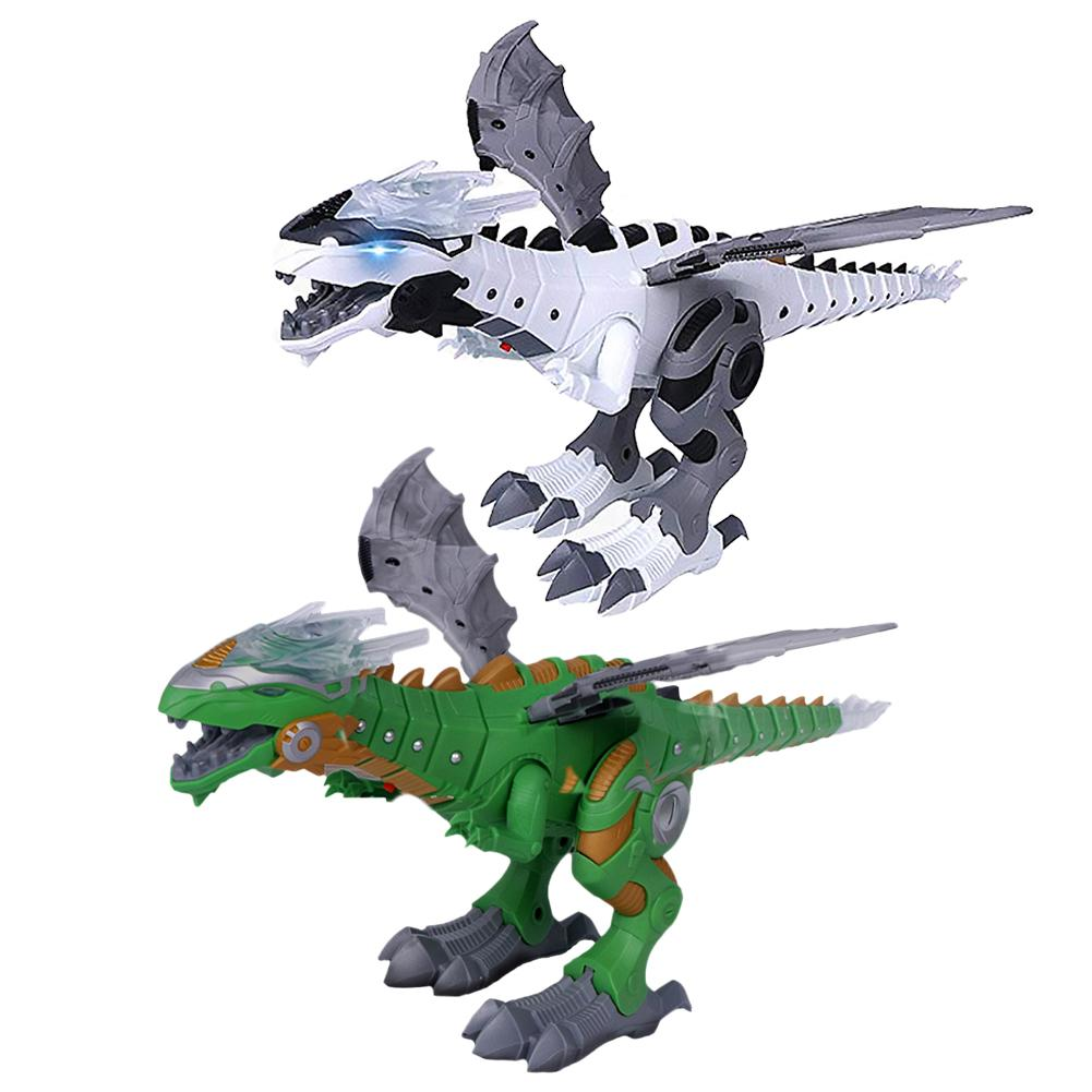 Buy 2 get 1 at 30% OFF!- Mechanical Spray Electric Dinosaur Toy - Discounts are limited to today!!!