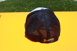 Navy Mesh Back / White Front - Custom Trucker hat