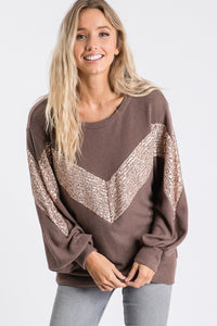 Coffee and Sequins Pullover