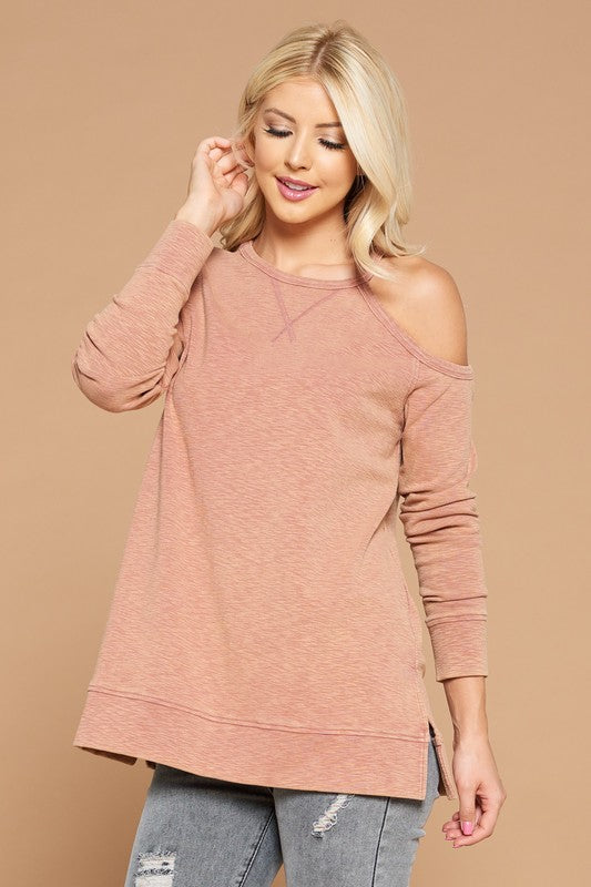 Rosewood Cold Shoulder