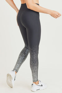 Black and Silver Leggings