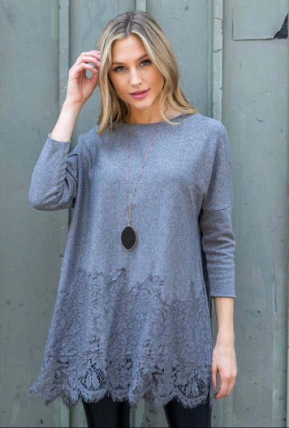 Sliver Knit Tunic