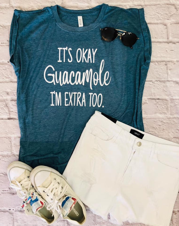 Extra Guacamole Muscle Tank