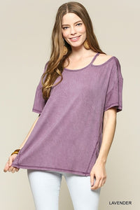 Lavender Cold Shoulder