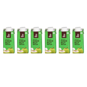 Organic Coconut Water <br> [ PACK OF 6 ]