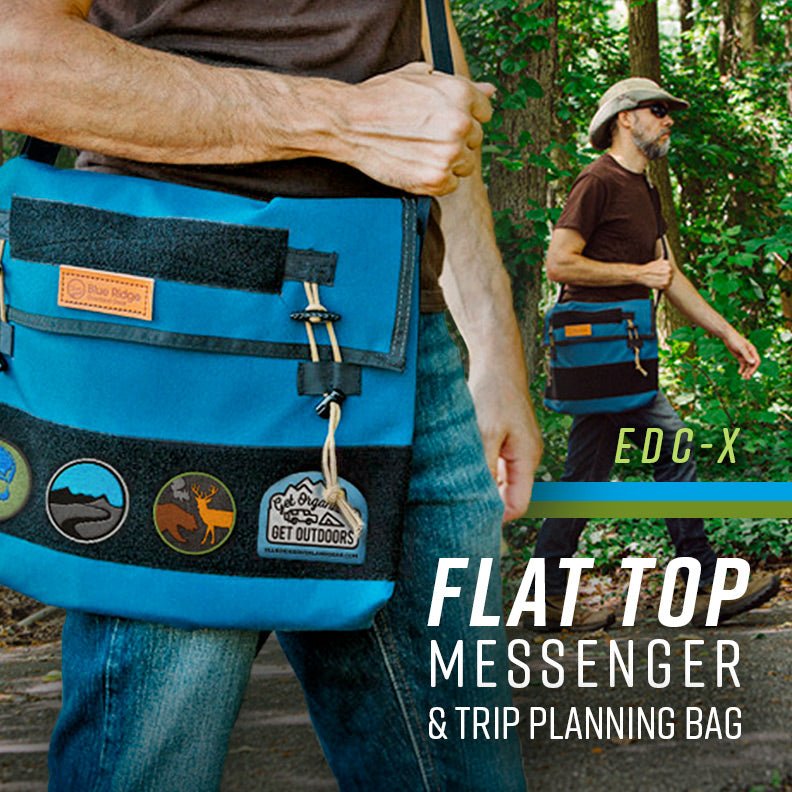 New: Flat Top Messenger and Trip Planning Bag