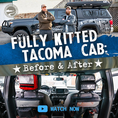 Fully Kitted Tacoma Cab: Before and After