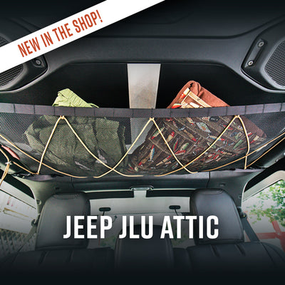 New in the Shop: Jeep JLU Attic