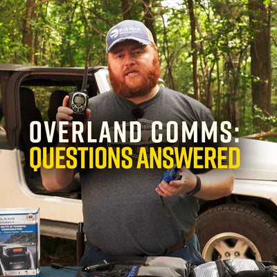 Overland Comms: Your Questions Answered