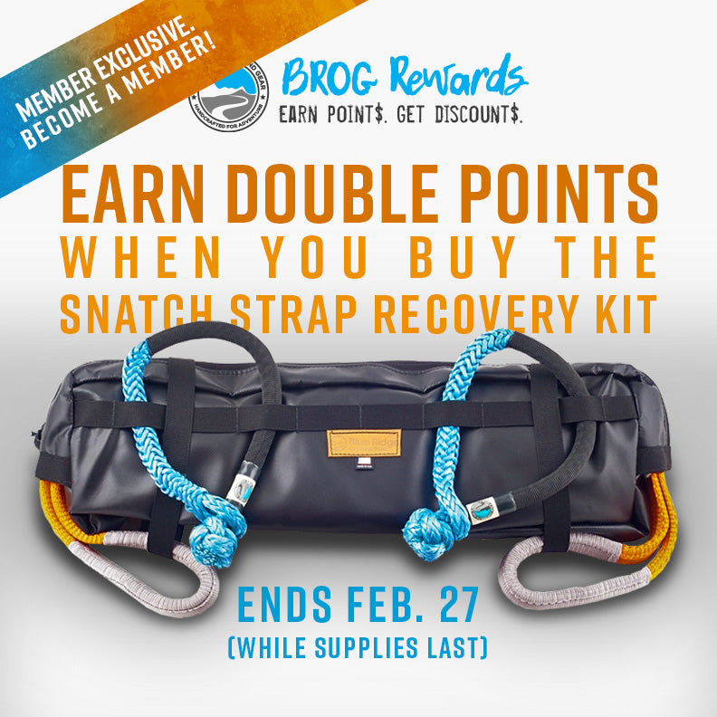 Earn Double Points: Snatch Strap Recovery Kit (Ends Feb. 27)