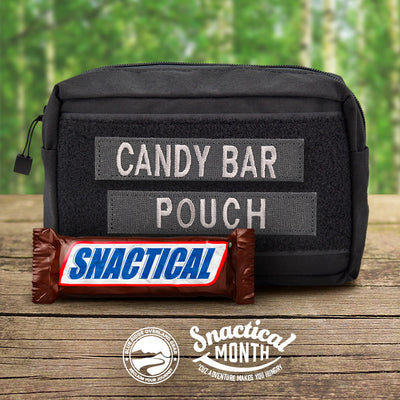 Candy Bar Pouch | Snactical Month!