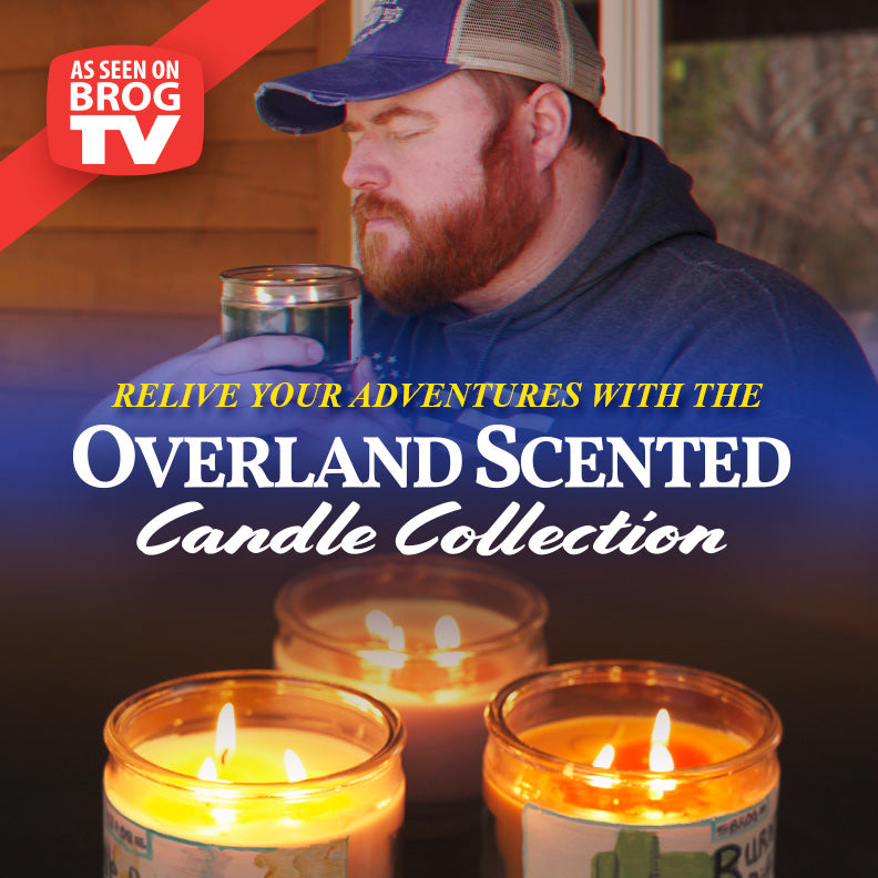 New! Overland Scented Candle Collection