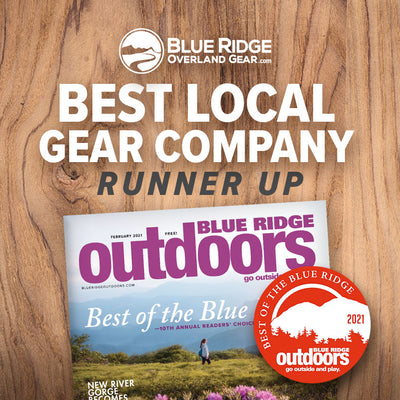 Best Local Gear Company: Runner Up (Blue Ridge Outdoors Magazine)