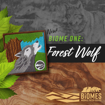 New: Forest Wolf patch (Biomes series)