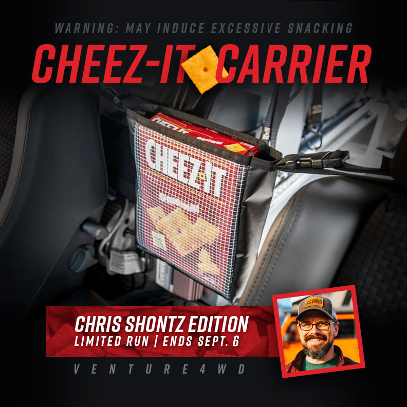 New in the Shop: Cheez-It Carrier | Chris Shontz Edition (Limited Run)
