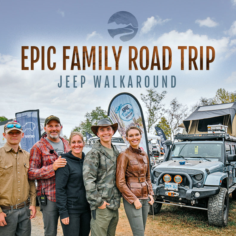 Epic Family Road Trip - Jeep Walkaround