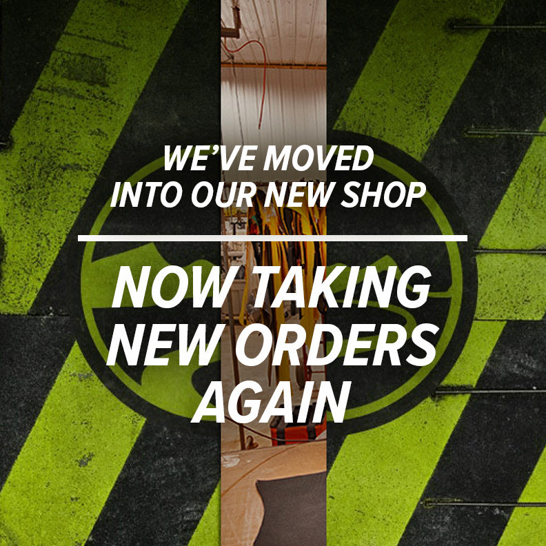 Now Taking New Orders Again!