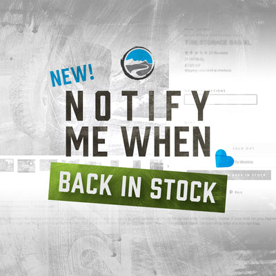New! Back-In-Stock Notifications