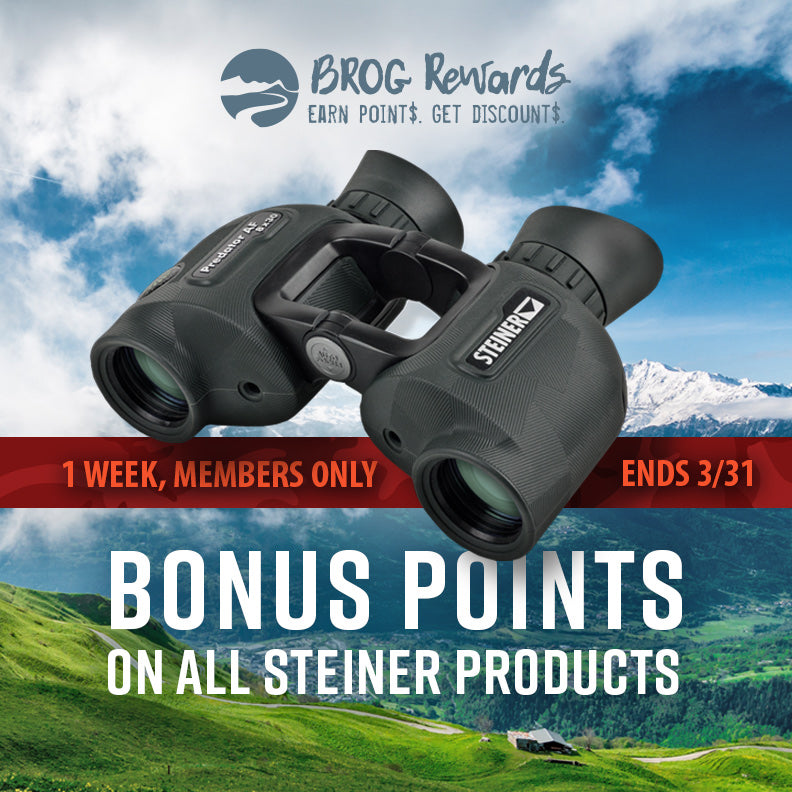 200 Bonus Points On All Steiner Products (until March 31)