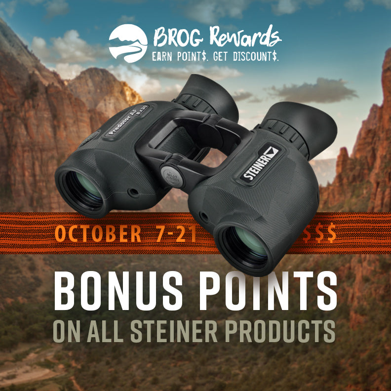 Steiner Binos: Bonus Points (Ends 10/21)