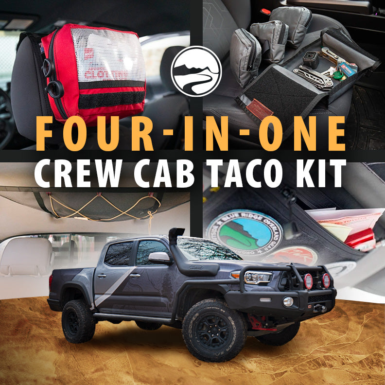Four-In-One Crew Cab Taco Kit