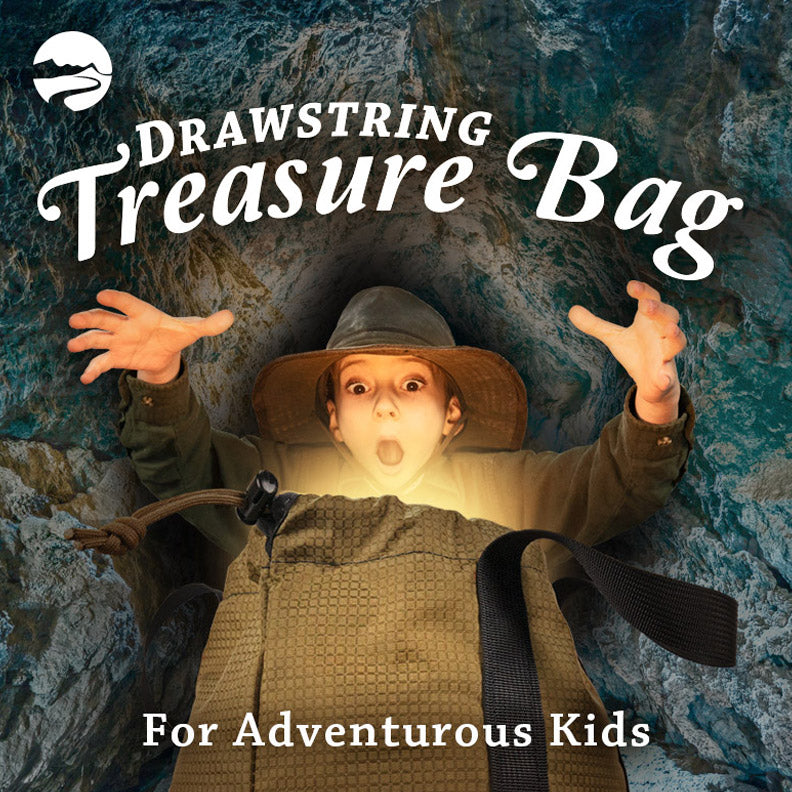 Get Your Kids Outdoors with the Treasure Bag!
