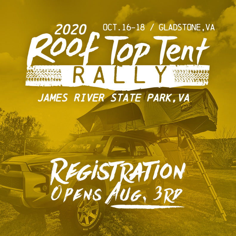 Roof Top Tent Rally 2020: Registration Opens Soon!