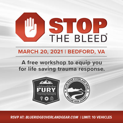 Stop the Bleed: Trauma Response Workshop (March 20)