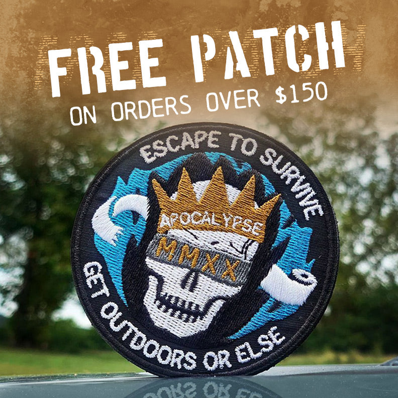 Free Apocalypse 2020 Patch With Orders Over $150