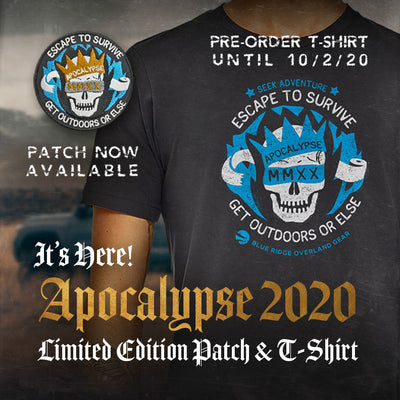 Apocalypse 2020: T-shirt Pre-Orders Open and Patches Now Available