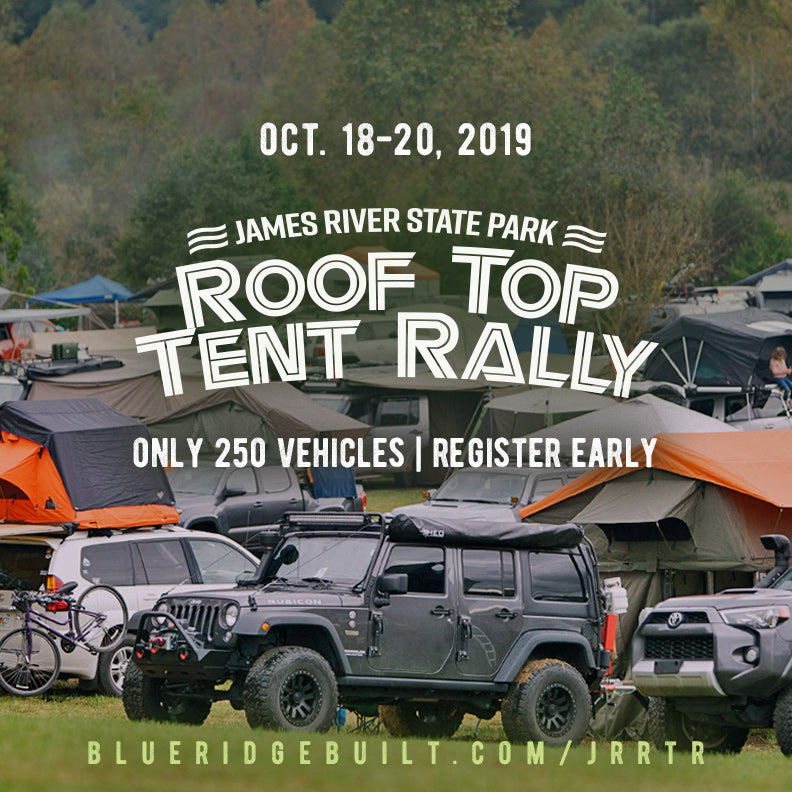 James River Roof Top Tent Rally 2019 - Oct. 18-20