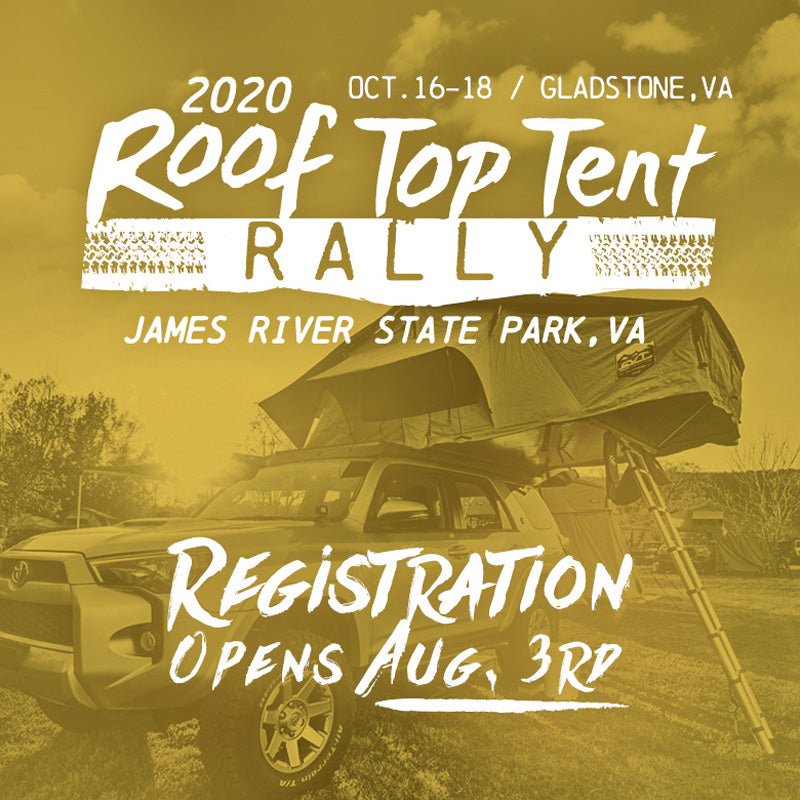 Roof Top Tent Rally 2020 (RTTR 2020)