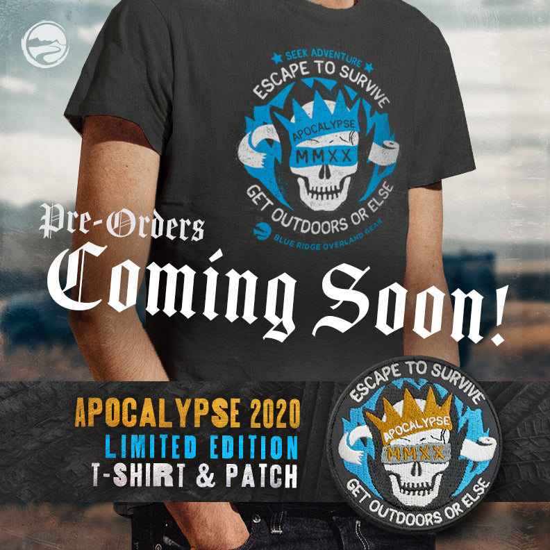 Apocalypse 2020 t-shirt and morale patch - pre-orders open soon!