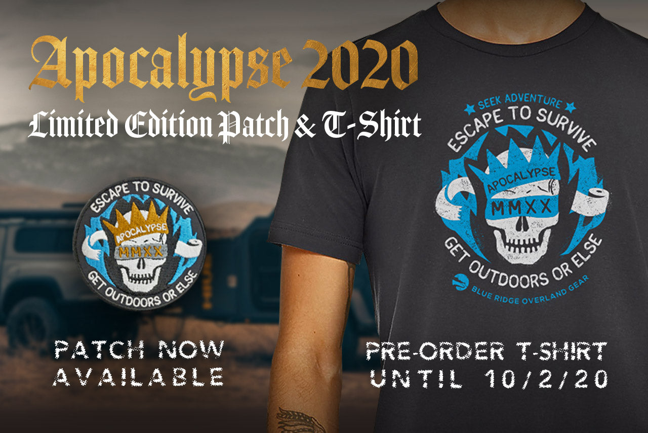 Apocalypse 2020: t-shirt and patch